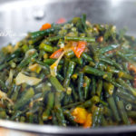 What to do with a french bean glut!